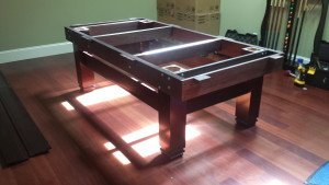 Correctly performing pool table installations, Syracuse New York