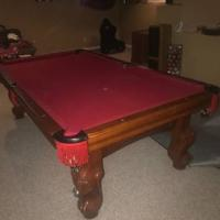 8 ft Slate Heirloom Pool Table