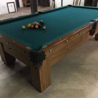Brunswick Balke Pool table 1920s