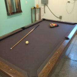 Brunswick Slate Top Pool Table