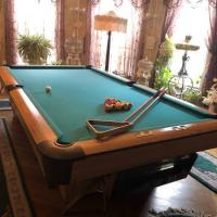 9' Slate Pool Table