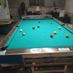 Brunswick Gold Crown 1 Pool Table